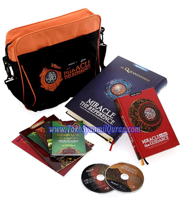 Paket Syaamil Quran Miracle 2 in 1