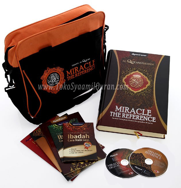 Paket  Syamil Al Quran Miracle 66 in 1 Ultimate