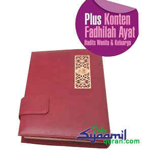 Syaamil Al Quran Rainbow Special for Woman Azalia Agenda Exclusive