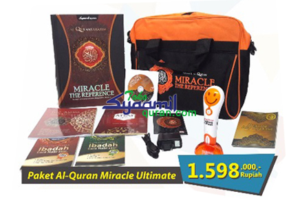Paket Syaamil Al Quran Miracle Ultimate E Pen Smile